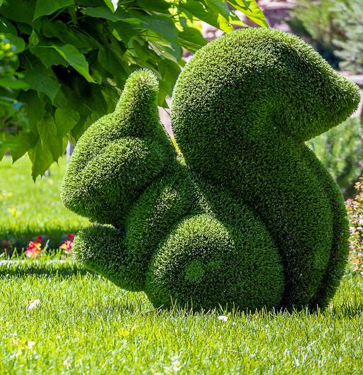 Садовые топиарные фигуры - высокое искусство в вашем дворе