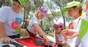 Будущие советники по воспитательной работе провели в «Артеке» «Нескучные игры РДШ»