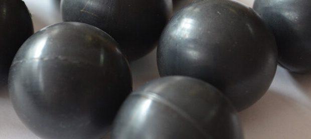 Резиновые шарики для очистки сит. Где применяются, как выбрать