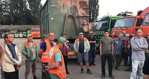 В Симферополе устроят сеть камер наблюдения на площадках для сбора твёрдых коммунальных отходов