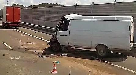 Смертельное ДТП на трассе «Таврида»: погиб водителей «ГАЗели»