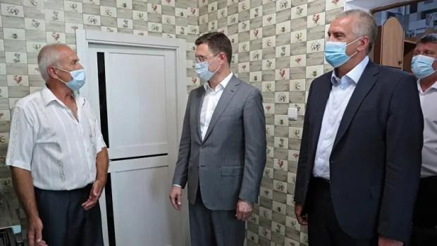 В Крыму побывал Вице-премьер РФ Александр Новак