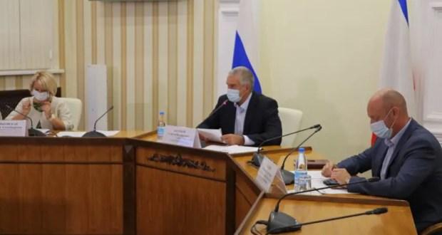 В Крыму меняют формат работы оперативного штаба по предупреждению распространения COVID-19