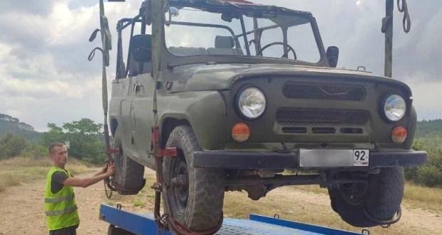 Инцидент в крымском ущелье Канлы-Дере – пресечен факт незаконного джиппинга