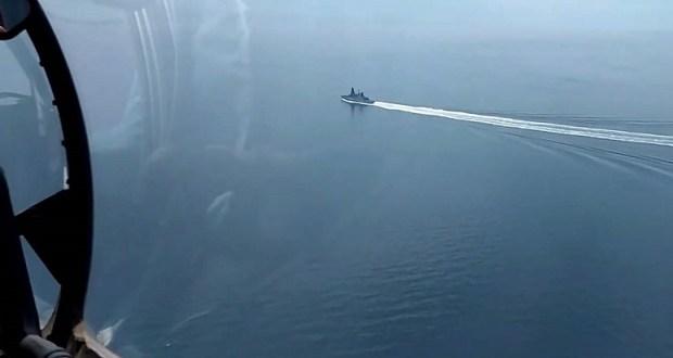 В Минобороны РФ раскрыли подробности перехвата британского эсминца «Defender» в Черном море