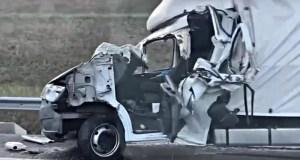 ДТП на трассе «Таврида»: «ГАЗель» «догнала» грузовик