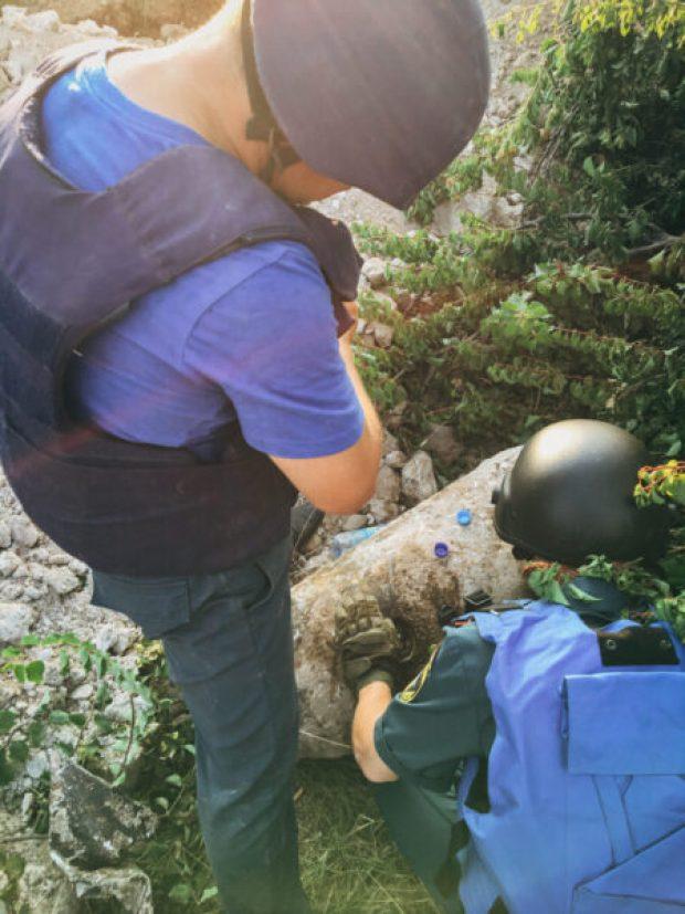 Севастопольские сотрудники МЧС обезвредили авиабомбы весом 100 и 250 килограммов