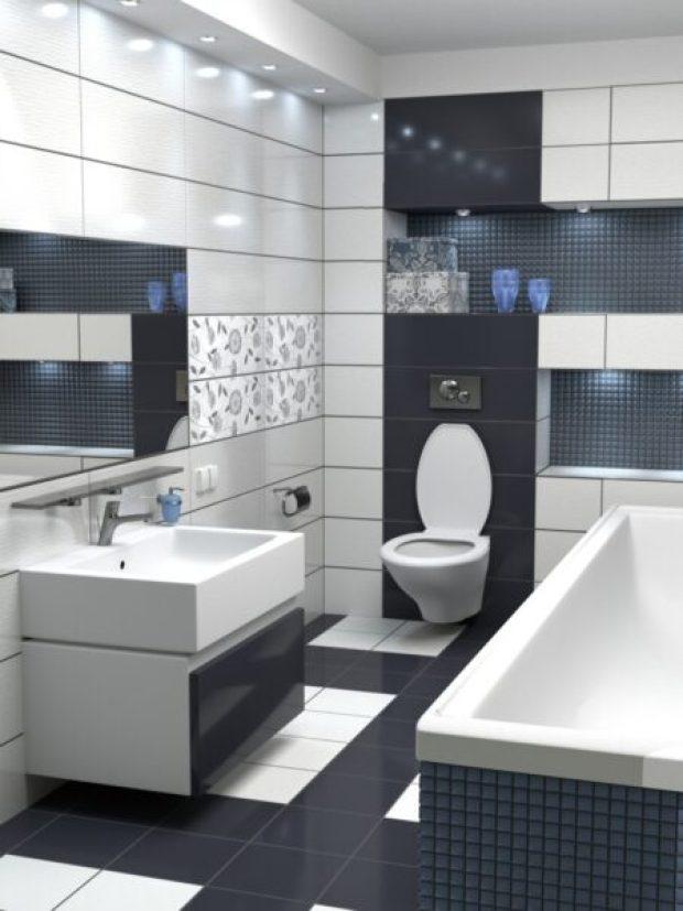 Модная тенденция дизайна ванных комнат – мебель обязательна