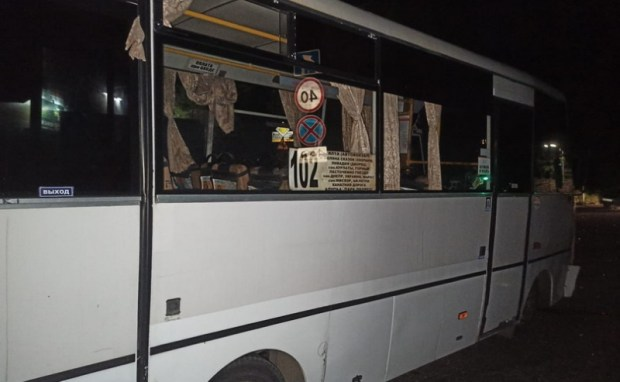 ДТП на автодороге Ялта-Севастополь: в участниках - две легковушки и автобус