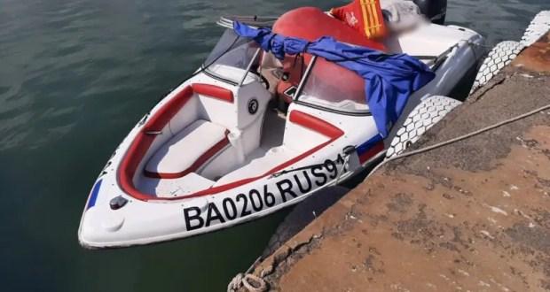 В Крыму возбуждено уголовное дело в отношении водителя катера, под которым погиб отдыхающий