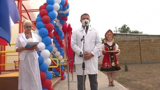 В Нижнегорском районе Крыма открылся новый фельдшерско-акушерский пункт