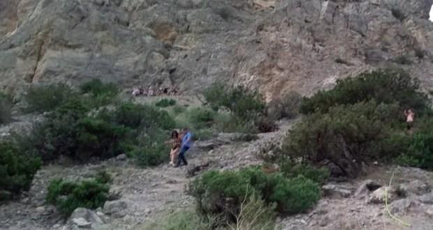 Cherchez la femme. За минувшие выходные «КРЫМ-СПАС» оказали помощь шести туристкам