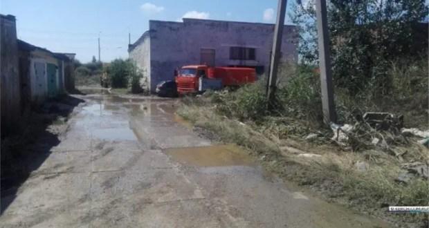 В Керчи люди возвращаются в ранее подтопленные дома