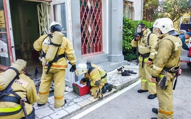 В южнобережном дворце «Карасан» ликвидирован условный пожар