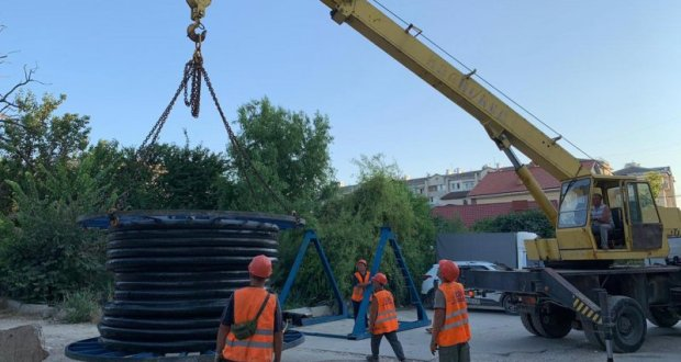 В Севастополе намерены существенно уменьшить объём потерь воды