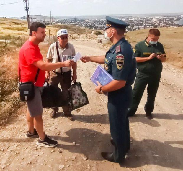 За выходные дни в Крыму ликвидировано 15 загораний сухой растительности