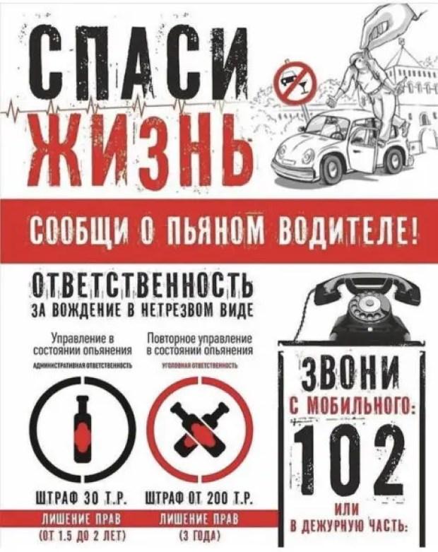 В Крыму Госавтоинспекция провела мероприятия «Нетрезвый водитель»