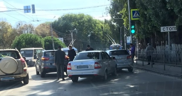 Сводка ДТП на дорогах Севастополя за прошедшую неделю