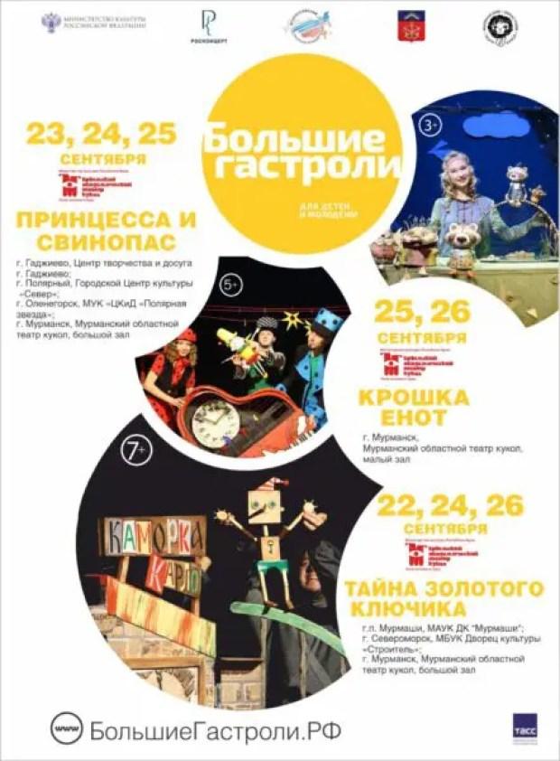 Крымский академический театр кукол примет участие в программе «Большие гастроли для детей и молодёжи»