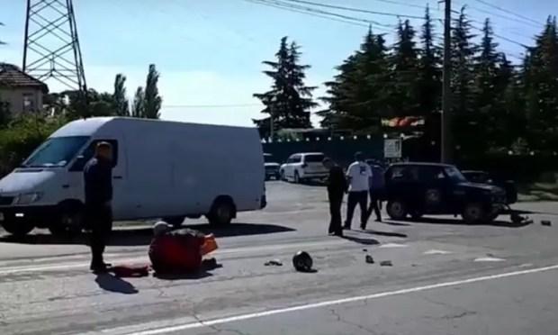 Два ДТП с мотоциклами в Крыму