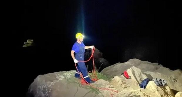 Вечерняя спасательная операция на феодосийском побережье