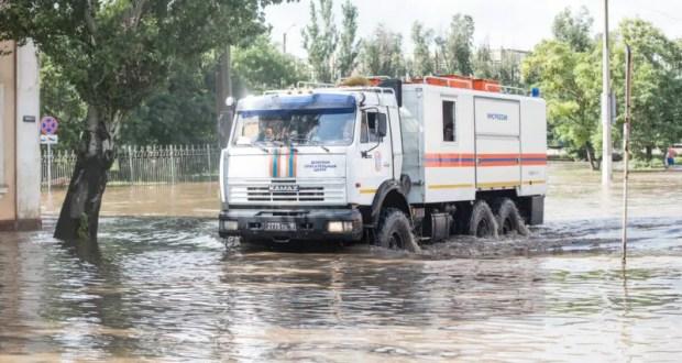 Информация о ситуации с подтоплением в городском округе Керчь. Утро 5 сентября