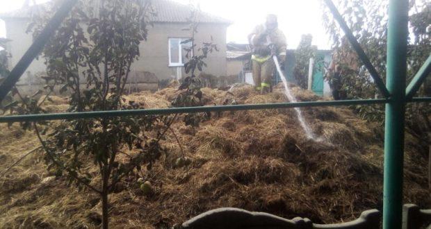 Почти два десятка пожаров в Крыму за сутки. В МЧС обеспокоены: все чаще горит… сено