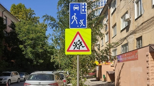 В Симферополе установили 57 новых дорожных знаков