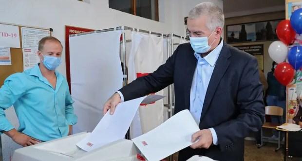 Аксёнов проголосовал в Симферополе, Константинов в Научном, а вы идете на выборы?