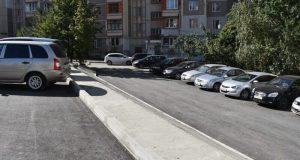В Симферополе благоустраивают дворовые территории. В рамках соглашения с Москвой