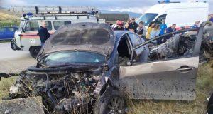 ДТП на въезде в Коктебель: двое пострадавших
