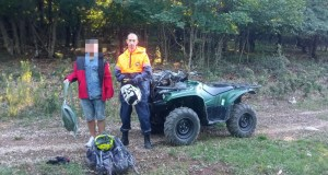 «КРЫМ-СПАС» эвакуировал из горно-лесной местности заблудившегося туриста из Смоленска