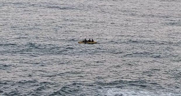 В Коктебеле спасли каякеров, в Алуште – не в меру самоуверенного пловца. Будни «КРЫМ-СПАС»
