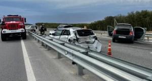 ДТП на трассе «Таврида», под Инкеманом: три авто буквально разметало по дороге