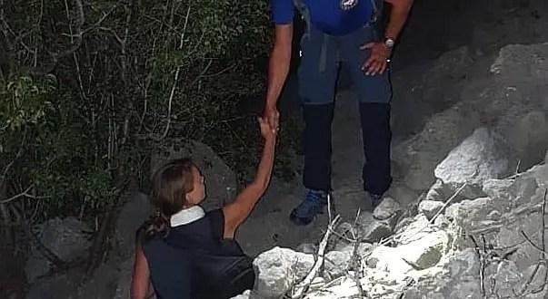 Близ южнобережного поселка Форос турист сбился с горной тропы