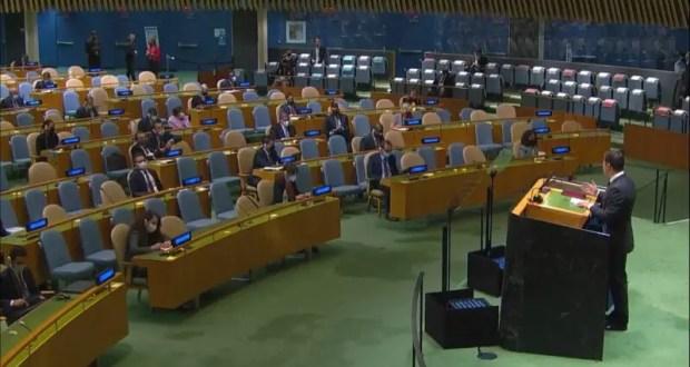 Зеленский в ООН: полупустой зал, «ужасы» в Крыму, и критика «оккупированного» Совбеза