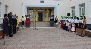 В Сакском районе открыли детский сад на 160 мест