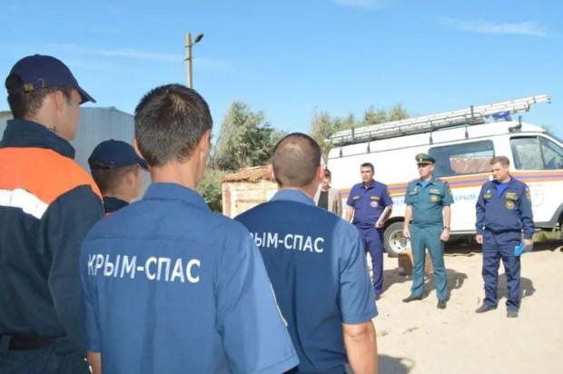 Ленинскому аварийно-спасательному отряду «КРЫМ-СПАС» вручили свидетельство на проведение аварийно-спасательных работ