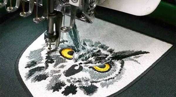 Машинная (компьютерная) вышивка на одежде