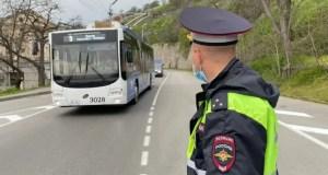 Госавтоинспекция Севастополя проверила автобусы. Итоги рейда «Перевозчик»