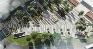 В Симферополе, на площади Куйбышева установят фонтан