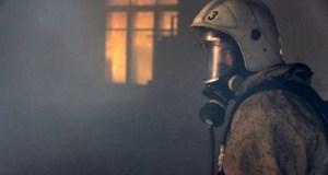 Вечерние пожары в Ленинском и Симферопольском районах