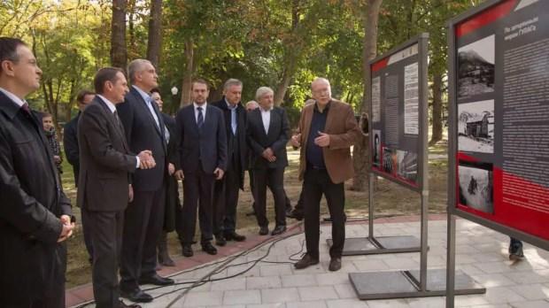 В Симферополе открыли памятник советскому разведчику Дмитрию Быстролетову