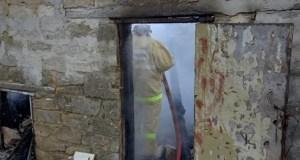 Пожар в крымском поселке Багерово и еще три пожара минувших суток