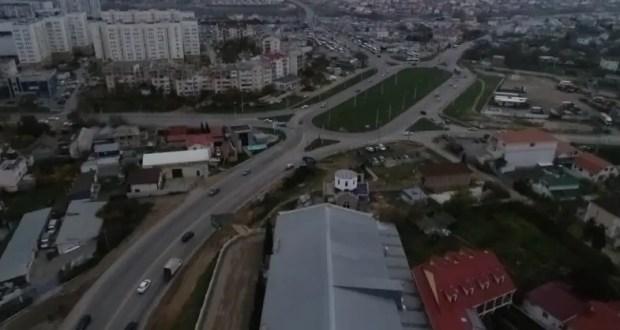 В Севастополе стартовали подготовительные работы для строительства развязки на «Огурце»