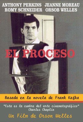 El Proceso fue llevada al cine por Orson Wells.