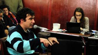 Martínez siempre estuvo seguro del tribunal que lo juzgó.