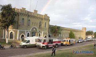 La cárcel de la capital correntina donde se produjo la fuga.