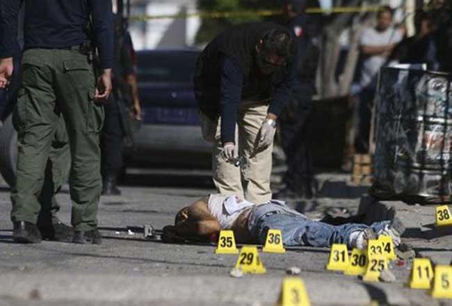 En 2014 hubo un pico en la tasa de homicidios.