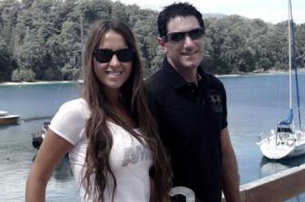 Andrea y Damián. Stefanini está desaparecido desde octubre.
